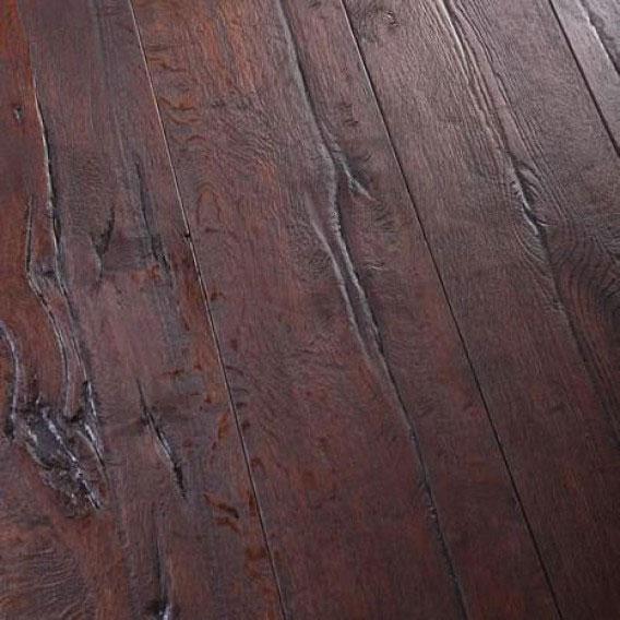 distressed engineered wood floor