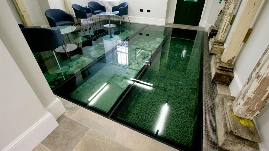 Flooring Materials in Office Interior | Mindful Design Consulting