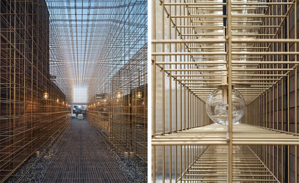 Using Brass to Achieve Transparency in Commercial Interior Design