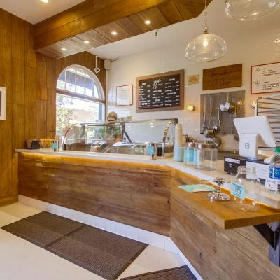 Jojos Creamery Ice-Cream Shop Interior Design