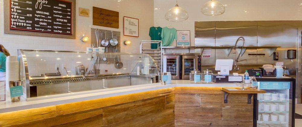 Jojos Ice-Cream Shop Interior Design