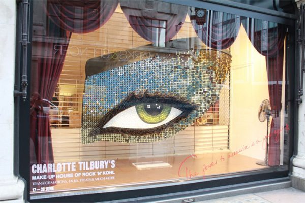 Cosmetics Storefront and Window Display Designs Go from Dramatic to Subtle