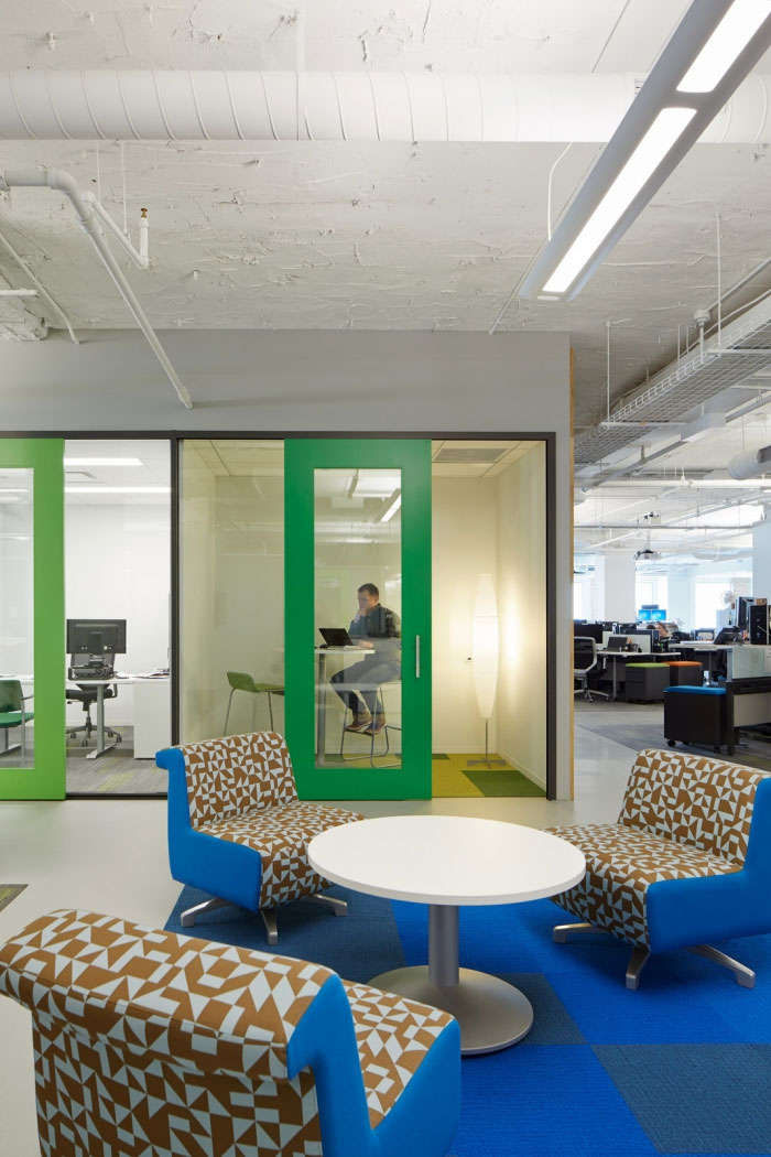 Office Room Design Software: Chicago Office Interior Design Adapts To Different Work Styles