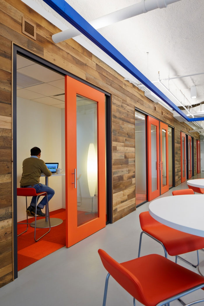 Interior Design Space: Chicago Office Interior Design Adapts To Different Work Styles