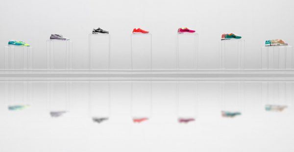 Retail Design - Ingenious Displays Put Shoes in a New Light