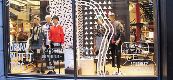 Retail Design - How Not to Break the Bank When Designing a Window Display