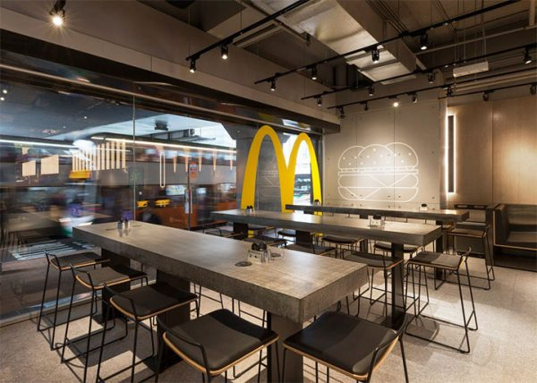 New McDonald's Restaurant Interior Design Is Part of a Smart Rebranding Strategy