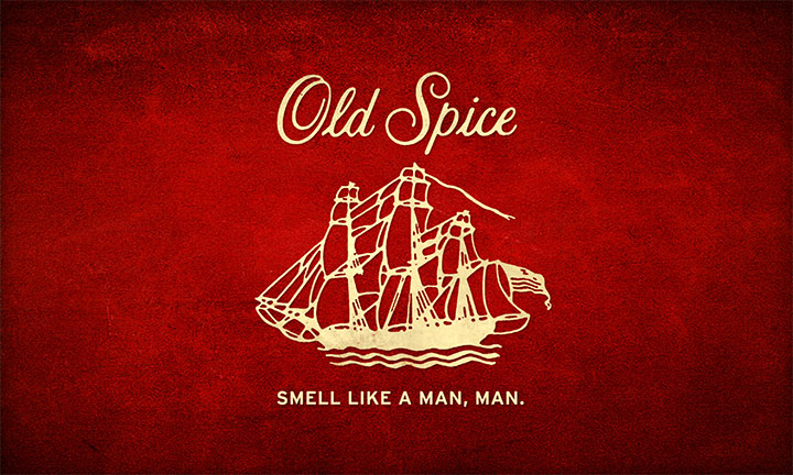 New Old Spice slogan as part of a successful company rebranding strategy