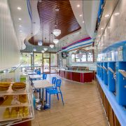 Alpine Chill Yogurt Shop Branding and Interior Design