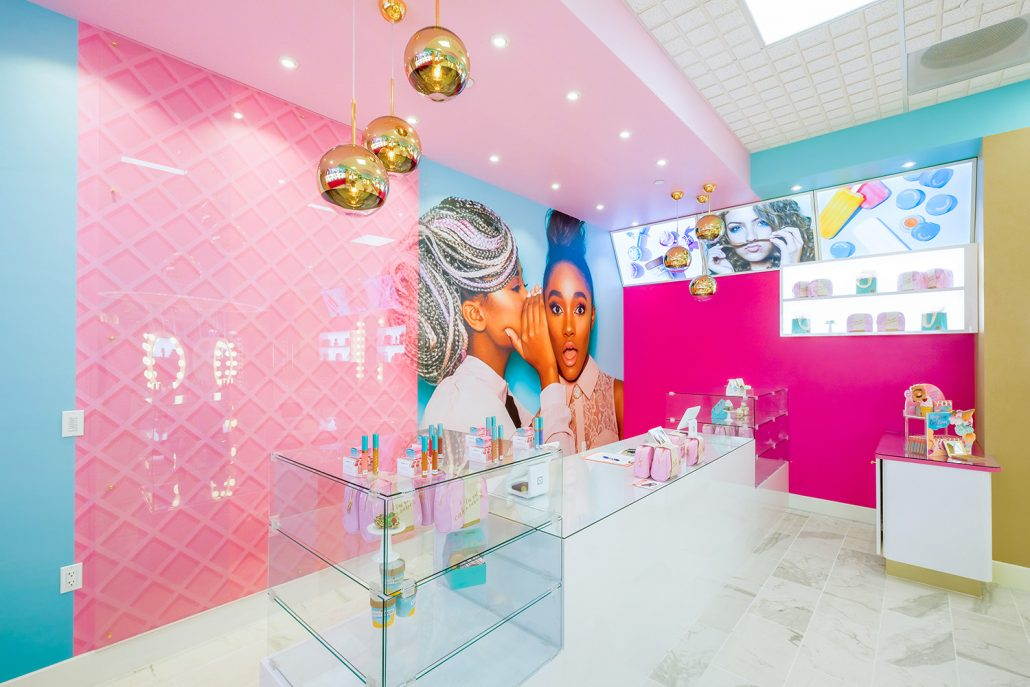 Cosmetic Store Lighting Design