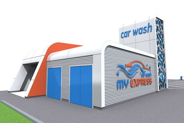 Modern Car Wash Design Attracts Customers with Attention to Detail