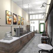 Olala Crepes Interior Design Gaslamp Quarter San Diego