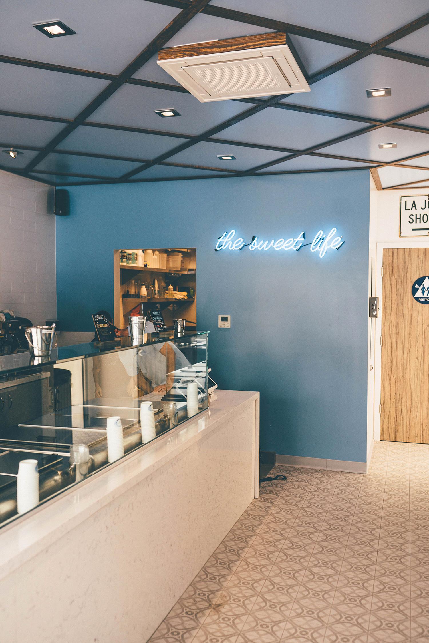 Ice-cream shop design