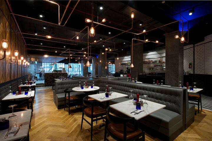 Open Ceiling Concept in Restaurants