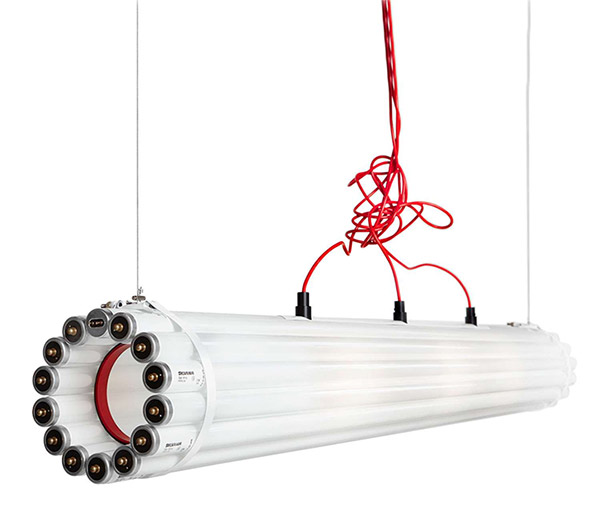 Reivented light fixture from fluorescent light tubes trends in 2018