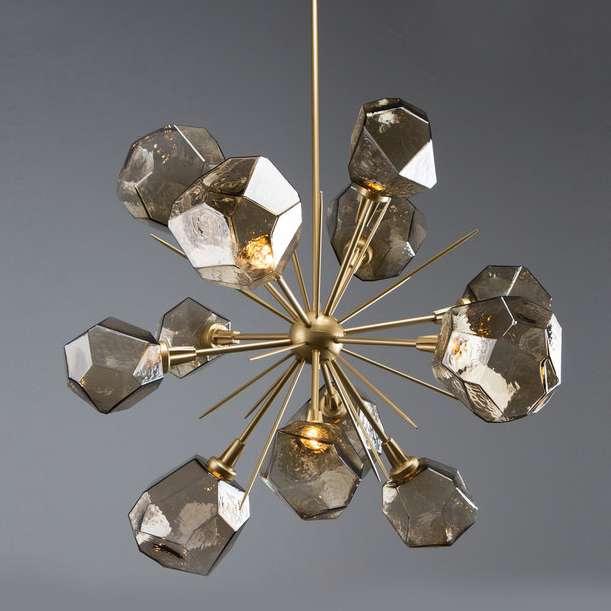 Sputnik-inspired chandeliers is a persistent light fixture trend