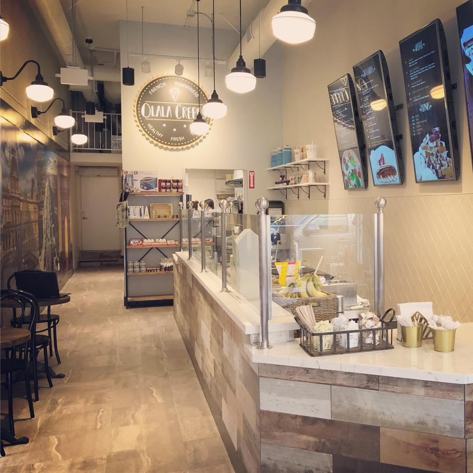 Olala Crepes restaurant design by Mindful Design Consulting