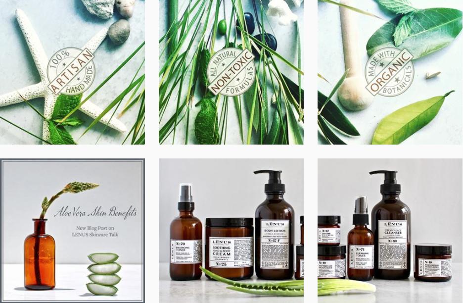 Cosmetic Store Social Media