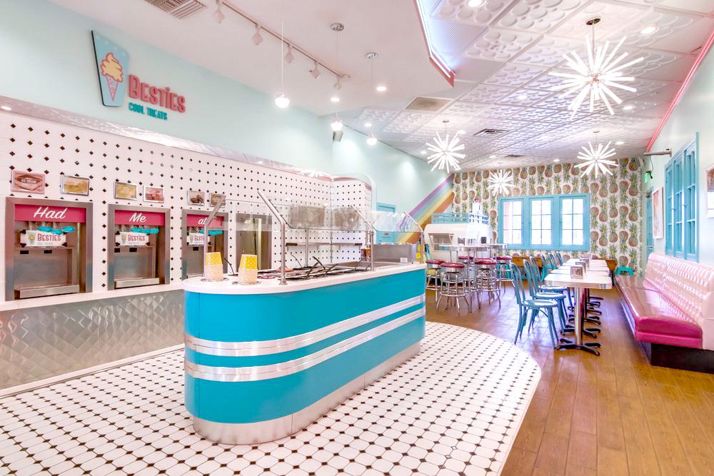 Yogurt and Ice-cream Store Design and Branding