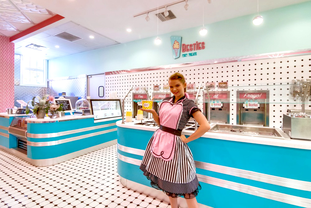 Dessert shop franchise versus new brand