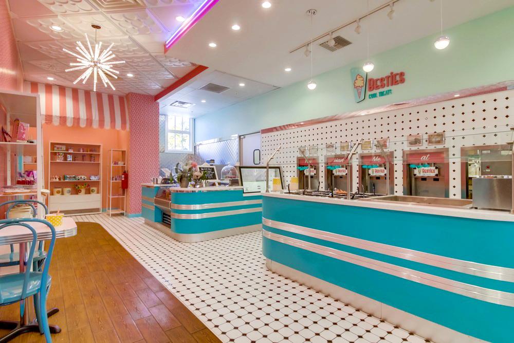 Yogurt and Ice-Cream Store Design