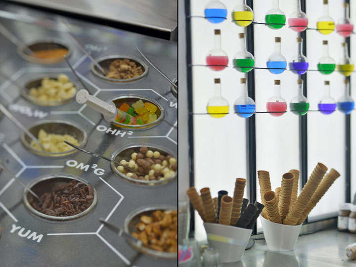 ice cream chemistry lab