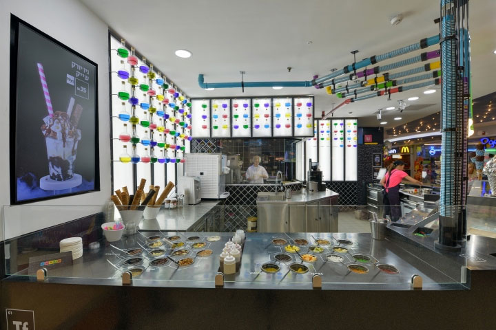 Ice Cream Store Design Makes Chemistry Fun