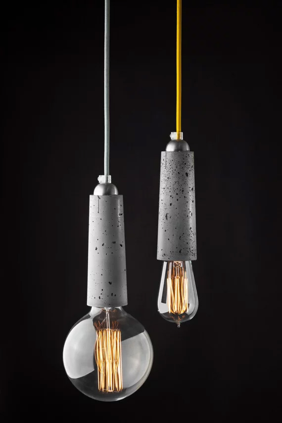 Concrete-Light-Fixtures-Colorful-Cords