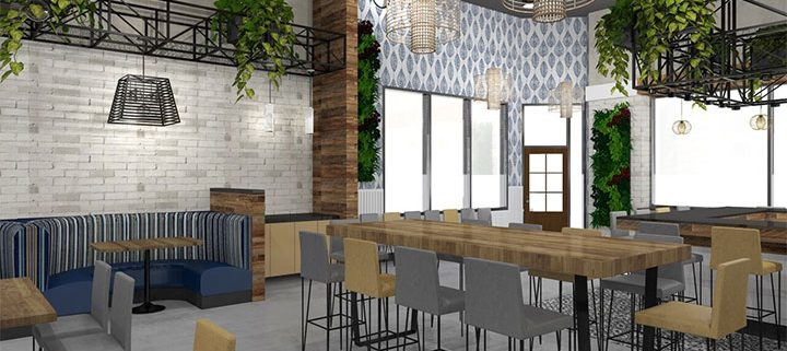 Designing a great rustic restaurant interior with the help of a designer
