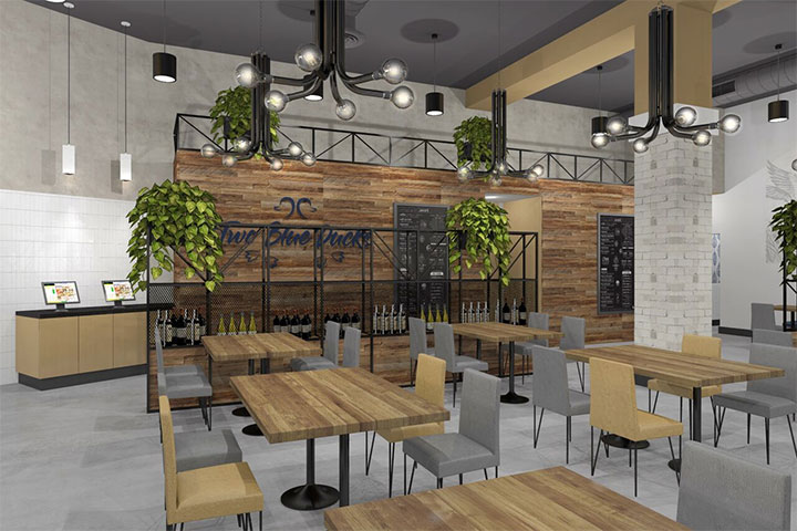 San Diego Restaurant Interior Design