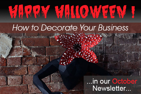 Halloween Decor for Business