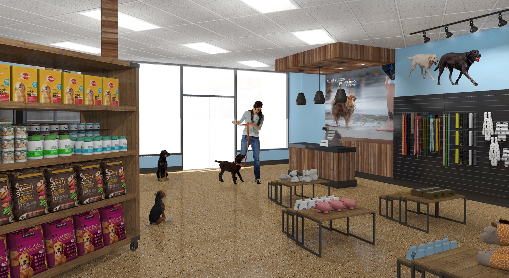 Our New Dogs Grooming Store Interior Design Is Cozy And Playful Mindful Design Consulting
