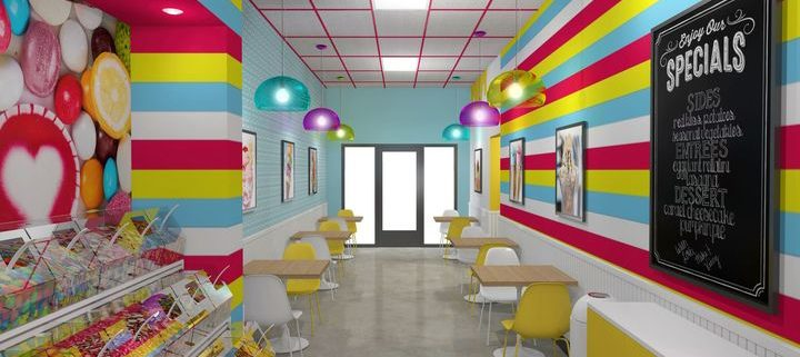 Ice cream store design