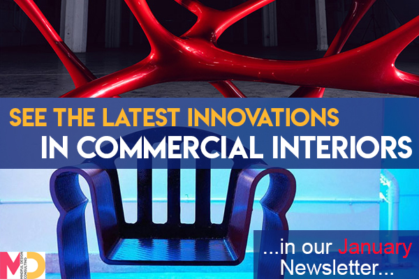 See the Latest Innovations in Commercial Interiors