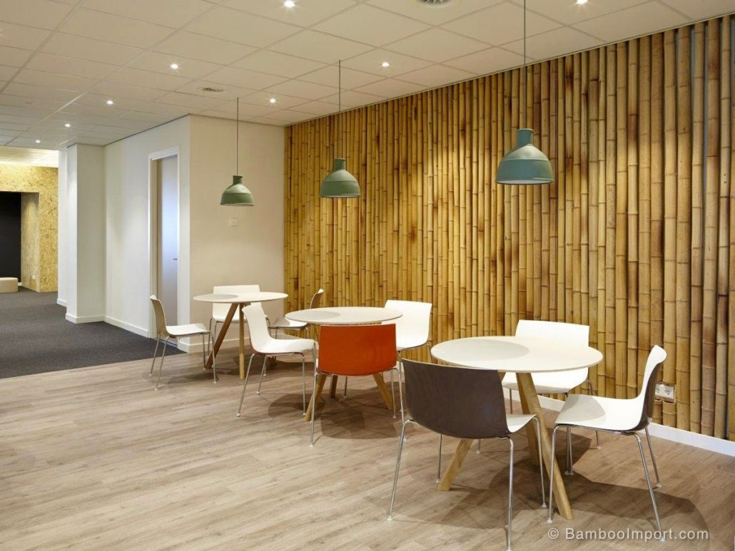 Bamboo Cladding is a Wall Finishes Trends