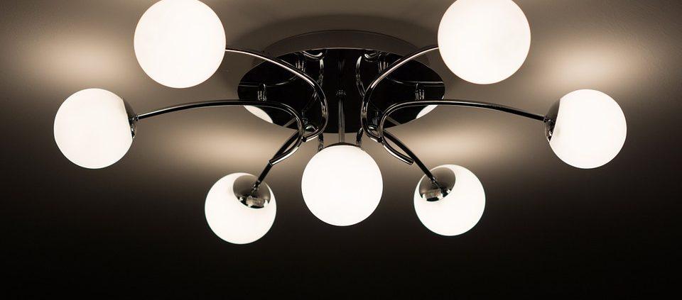 Recessed light into Chandelier converter
