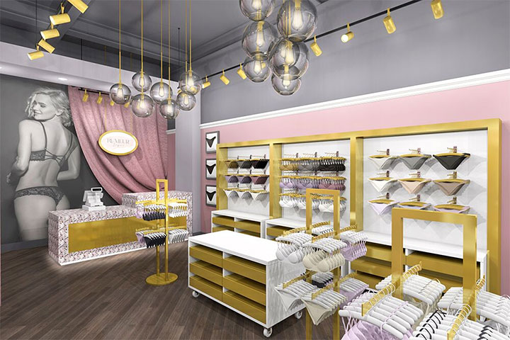 Lingerie Store Interior Design by Mindful Design Consulting