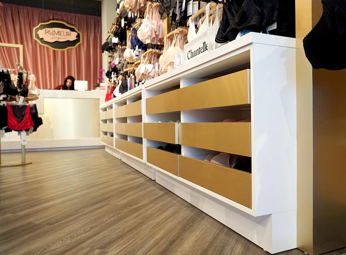 Lingerie Store Interior Design
