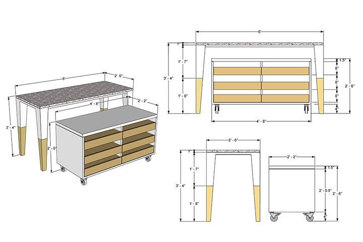 Retail fixtures design