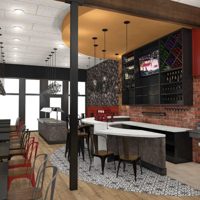 El Pueblo Mexican Restaurant Design