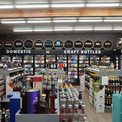 Grocery Liquor Store Interior Design