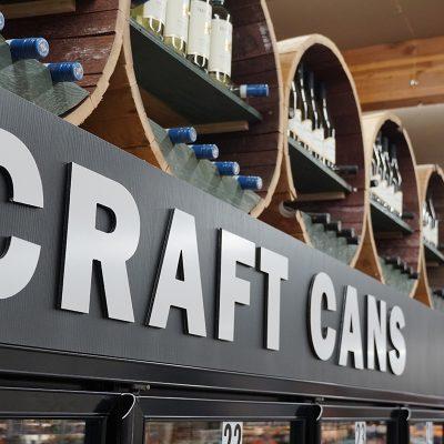 Grocery Liquor Store Interior Design
