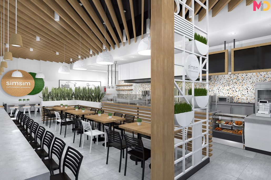 SimSim restaurant design modern