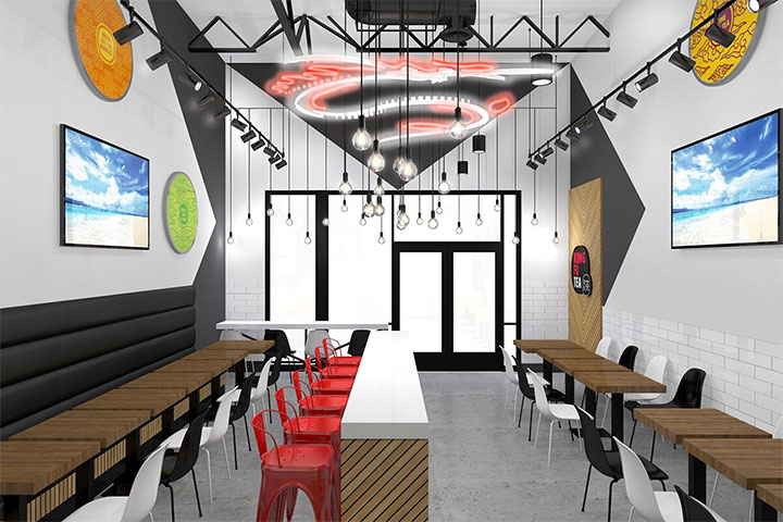 Boba Tea Shop Design