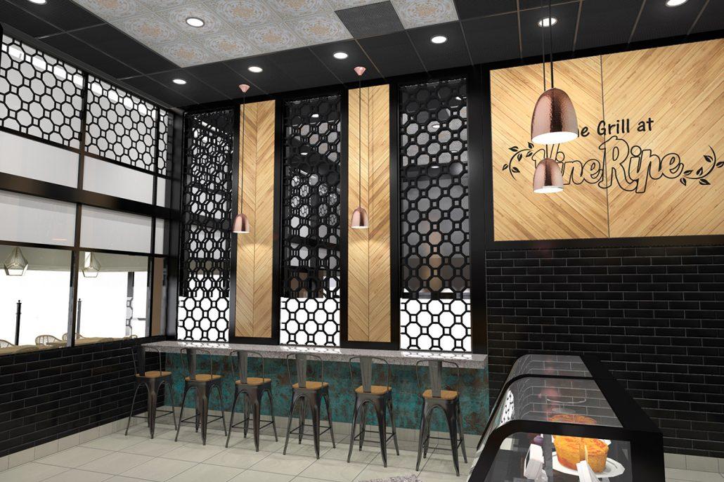 The Grill at Vine Ripe Restaurant Design