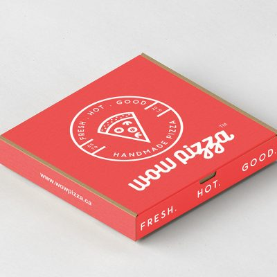 Pizza Box Graphic Design