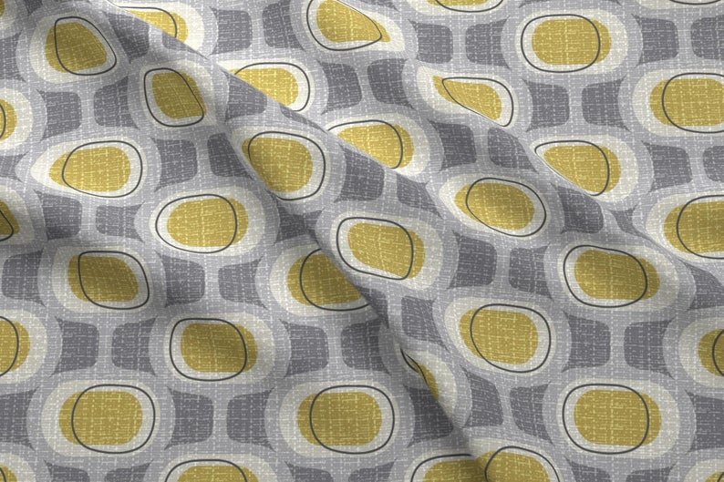 Design a Mid-century Modern fabric