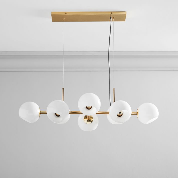 Mid-century interior lighting