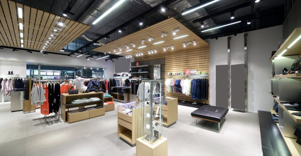 Lighting in Retail Space