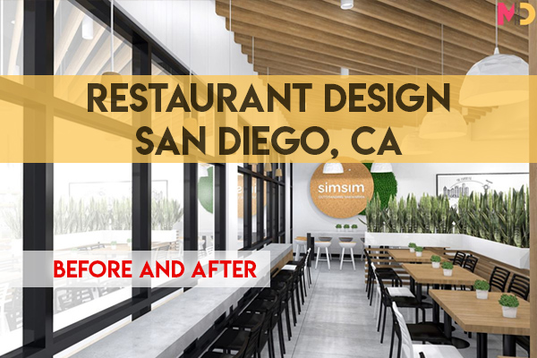 Before and After Restaurant Design